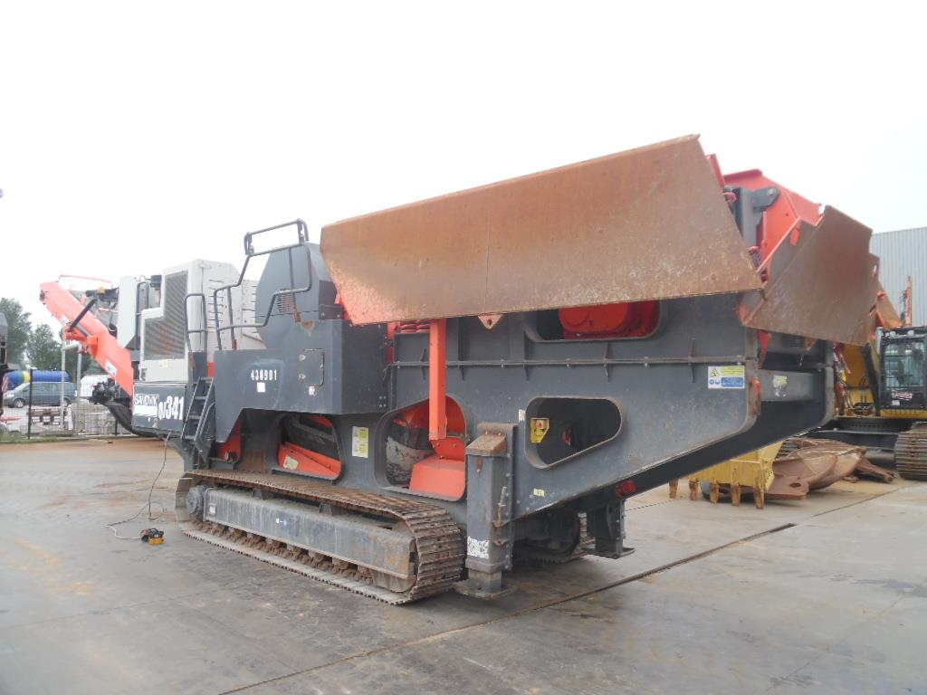 QJ341 Crawler Jaw Crusher